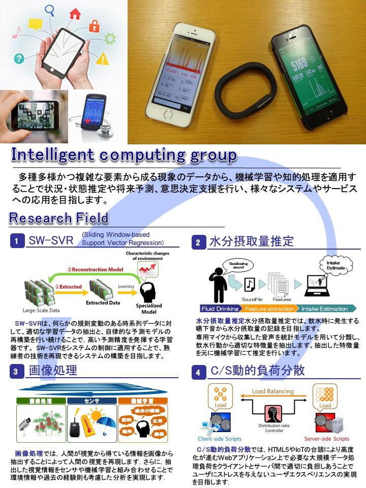 インテリジェントコンピューティンググループ