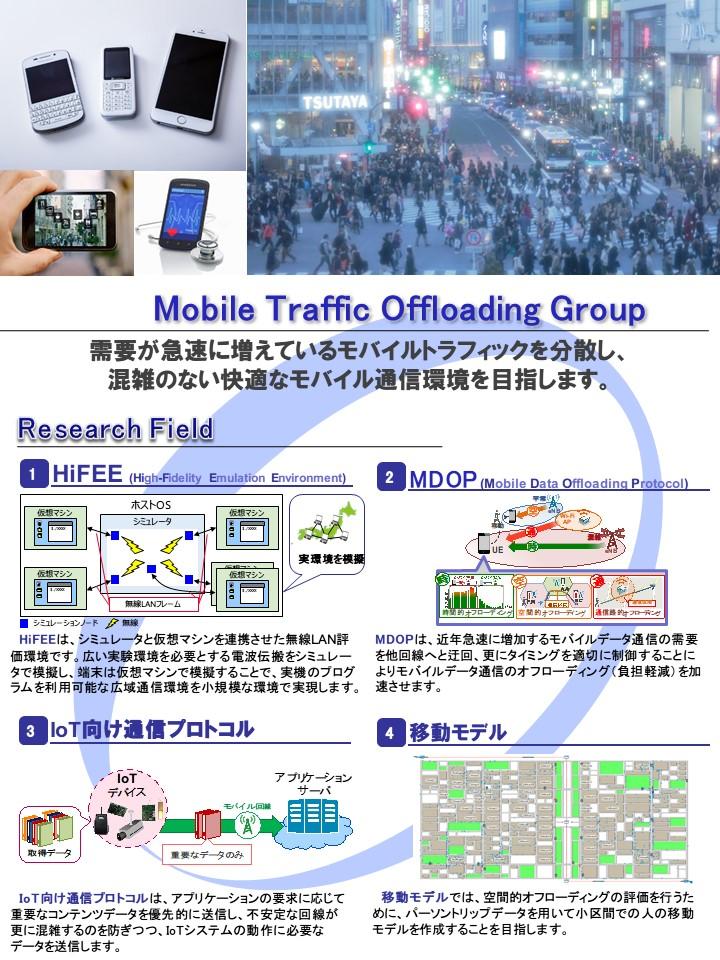 モバイルトラフィックオフローディンググループ